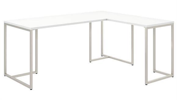 "L Shaped Desks Bush Furniture 72""W L Shaped Desk with 30""W Return"
