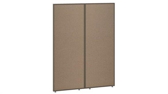 "Office Panels & Partitions Bush Furniture 66""H x 48""W Office Partition"