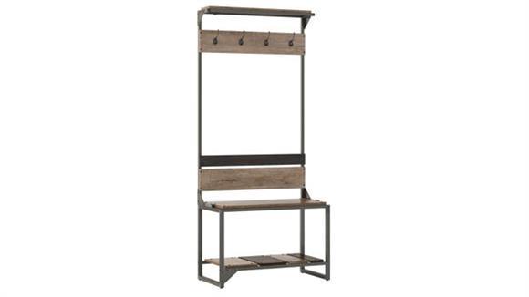 Storage Cabinets Bush Furniture Hall Tree with Shoe Storage Bench