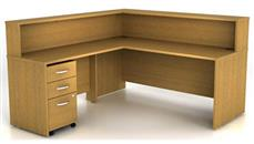 Reception Desks Bush Furniture L Shaped Reception Desk