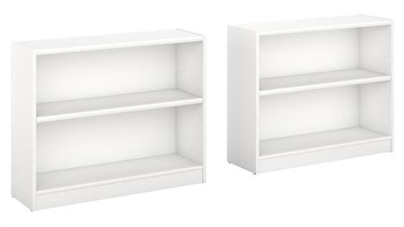 Bookcases Bush Furniture 2 Shelf Bookcase - Set of 2