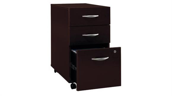 Mobile File Cabinets Bush Furniture 3 Drawer Mobile Vertical File