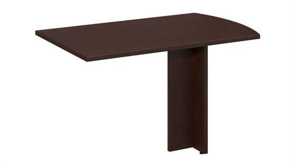 """Desk Parts & Accessories Bush Furniture 48""""W x 30""""D Peninsula Return"""