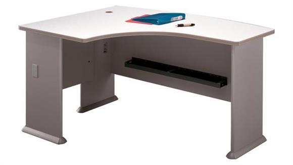 Modular Desks Bush Furniture Left L Bow Desk