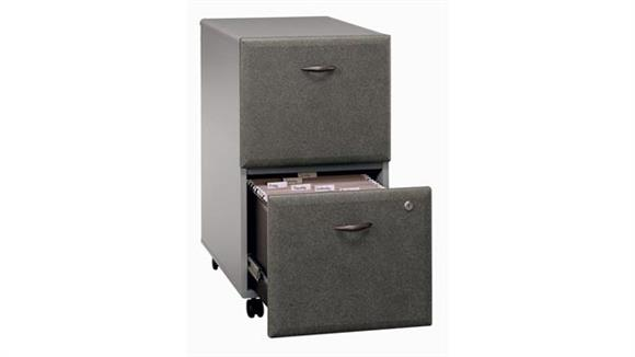 Mobile File Cabinets Bush Furniture 2 Drawer Mobile File - Fully Assembled