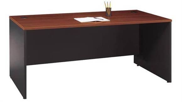 "Executive Desks Bush Furniture 71""W  Desk Shell"