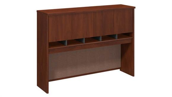 """Hutches Bush Furniture 60""""W Hutch with Work-in-Progress"""