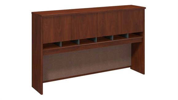 "Hutches Bush Furniture 71""W 4 Door Hutch"