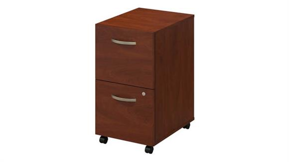 Mobile File Cabinets Bush Furniture 2 Drawer Mobile Pedestal - Assembled
