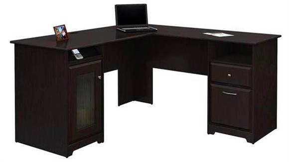 L Shaped Desks Bush Furniture L-Shaped Desk