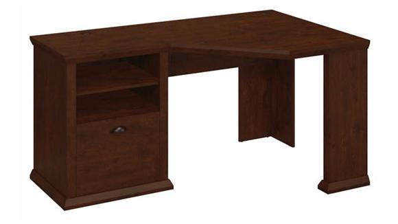 """Corner Desks Bush Furniture 60""""W Corner Desk with Storage"""