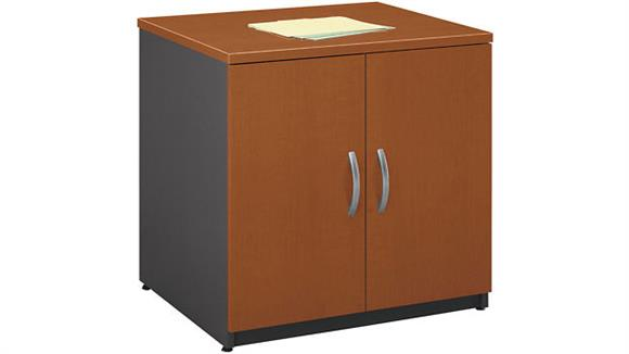 "Storage Cabinets Bush Furniture 30""H  Storage Cabinet"
