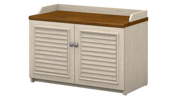 Storage Cabinets Bush Furniture Shoe Storage Bench