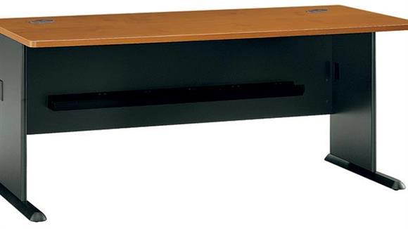 "Modular Desks Bush Furniture 72"" Modular Desk"