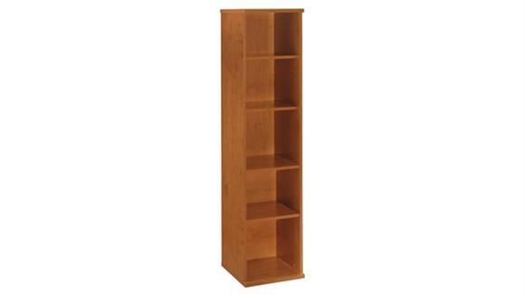 """Bookcases Bush Furniture 18""""W 5 Shelf Bookcase"""