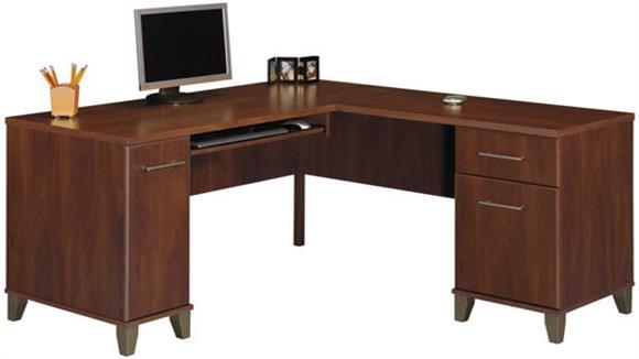 "L Shaped Desks Bush Furniture 60"" L Shaped Desk"