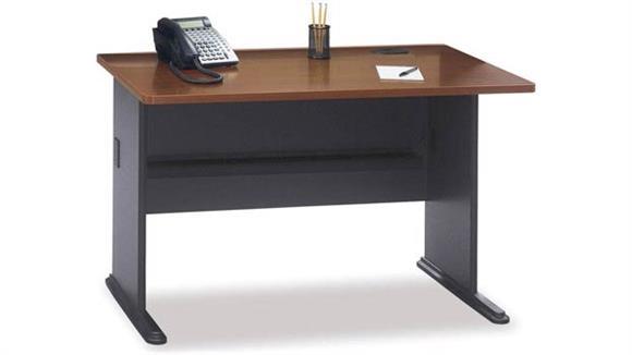 "Modular Desks Bush Furniture 48"" Modular Desk"