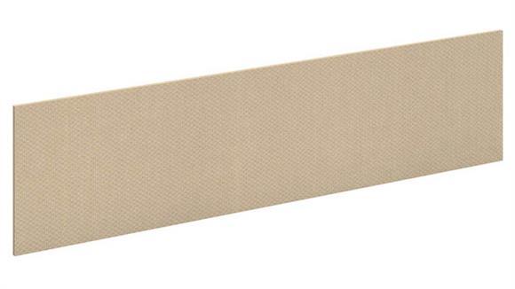 "Hutches Bush Furniture 66"" Fabric Tackboard"