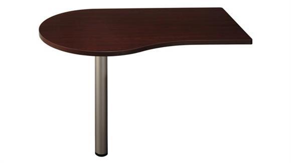 "Modular Desks Bush Furniture 48"" Left Peninsula"
