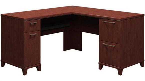 """L Shaped Desks Bush Furnishings 60"""" L Shaped Desk"""