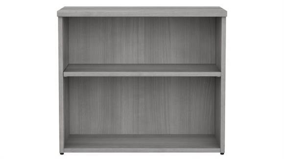 Bookcases Bush Furnishings 2 Shelf Bookcase