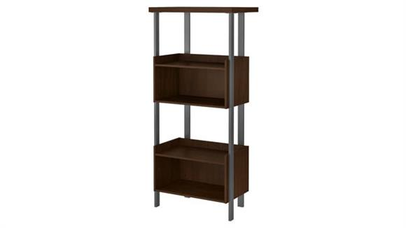 Bookcases Bush Furnishings 4 Shelf Bookcase