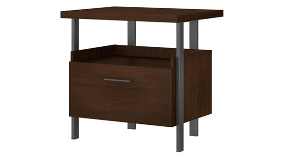 File Cabinets Lateral Bush Furnishings 1 Drawer Lateral File Cabinet