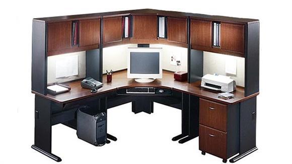 Workstations & Cubicles Bush Furnishings Corner Workstation