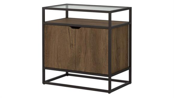 Storage Cabinets Bush Furnishings Record Player Stand with Storage