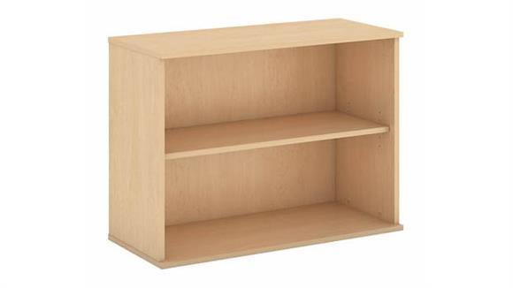 "Bookcases Bush Furnishings 30""H Two Shelf Bookcase"