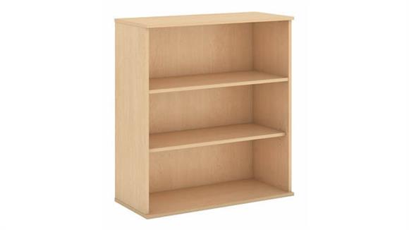 "Bookcases Bush Furnishings 48""H Three Shelf Bookcase"