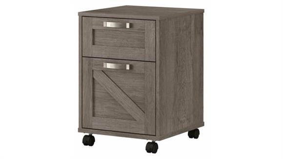 Mobile File Cabinets Bush Furnishings 2 Drawer Mobile File Cabinet