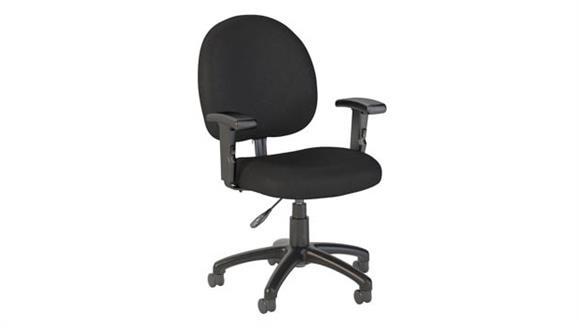 Office Chairs Bush Furnishings Task Chair with Arms