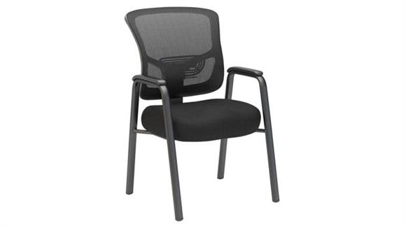 Side & Guest Chairs Bush Furnishings Mesh Back Guest Chair
