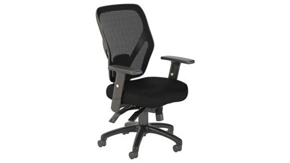 Office Chairs Bush Furnishings Mid Back Multifunction Mesh Office Chair