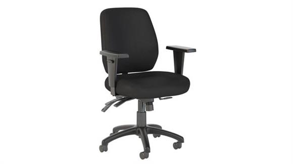 Office Chairs Bush Furnishings Mid Back Multifunction Office Chair