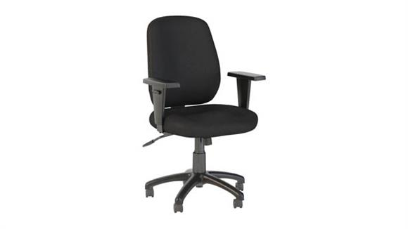 Office Chairs Bush Furnishings Mid Back Task Chair