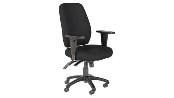 Office Chairs Bush Furnishings High Back Multifunction Office Chair