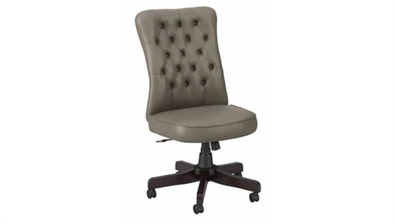 Office Chairs Bush Furnishings High Back Tufted Office Chair