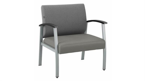 Big & Tall Bush Furnishings Bariatric Guest Chair with Arms
