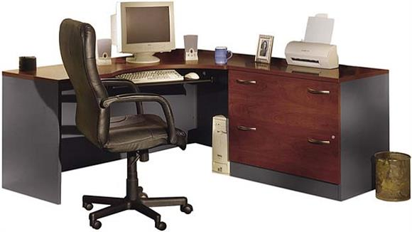 Corner Desks Bush Furnishings Corner Workstation