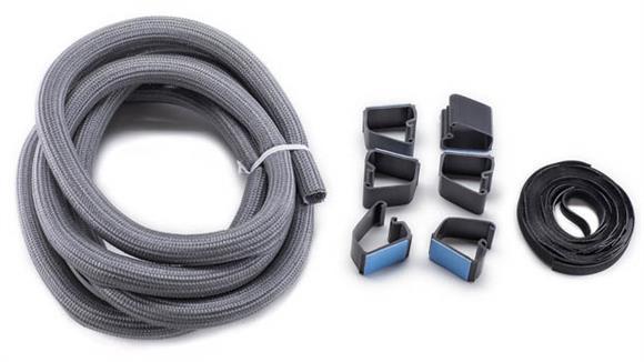 Desk Parts & Accessories Bush Furnishings Wire Management Set