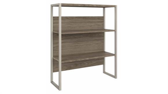 """Hutches Bush Furnishings 36"""" W Bookcase Hutch"""