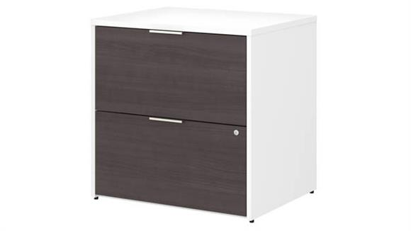 File Cabinets Lateral Bush Furnishings 2 Drawer Lateral File Cabinet - Assembled