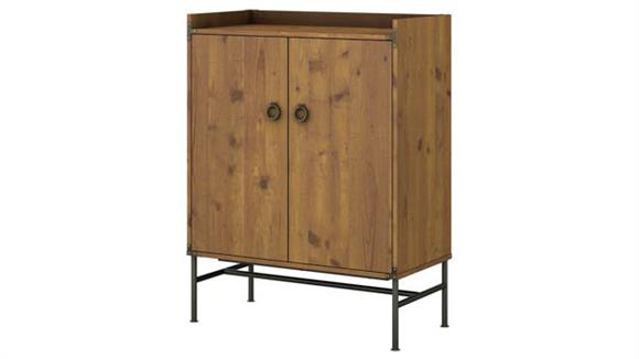Storage Cabinets Bush Furnishings Storage Cabinet with Doors