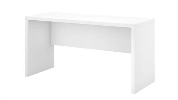 "Executive Desks Bush Furnishings 60""W Credenza Desk"