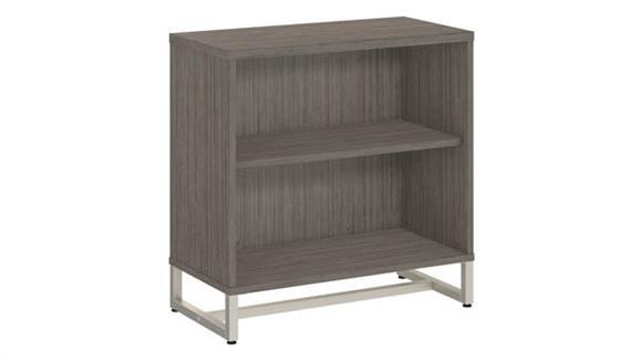 Bookcases Bush Furnishings 2 Shelf Bookcase Cabinet