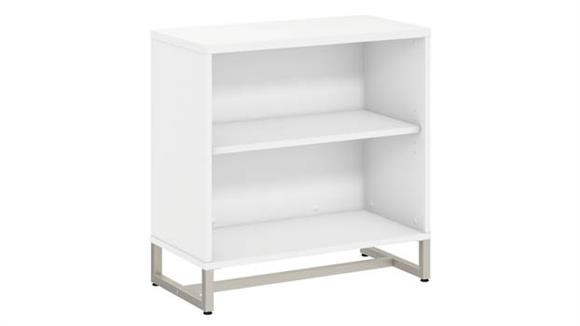 Bookcases Bush Furnishings 2 Shelf Bookcase Cabinet