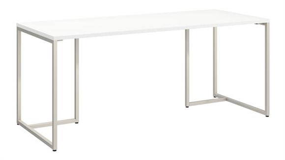 "Computer Desks Bush Furnishings 72""W Table Desk"