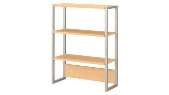 Bookcases Bush Furnishings Bookcase Hutch